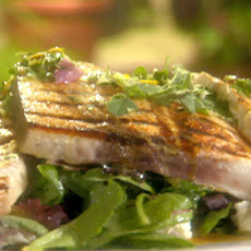 Grilled Swordfish with a Citrus Herb Vinaigrette