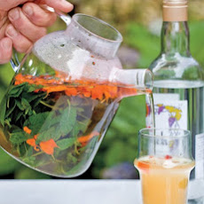 Moroccan Mint Tea with Arak and Marigolds