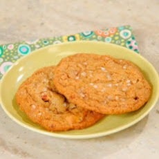Salty Butterscotch-Toffee Cookies