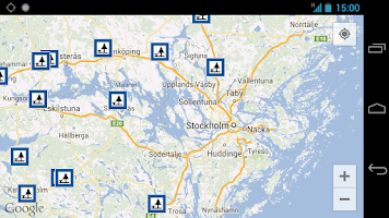 Screenshot of Rest Areas in Sweden
