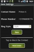 Screenshot of Call Monitor
