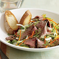 Grilled Steak-and-Sweet Lime Salad