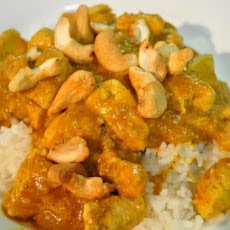 Chicken and Nut Curry