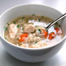 Chicken-Barley Soup