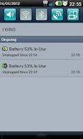 Screenshot of Battery Monitor Widget Pro