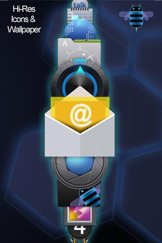 【免費個人化App】ADW Theme: Android Honeycomb-APP點子
