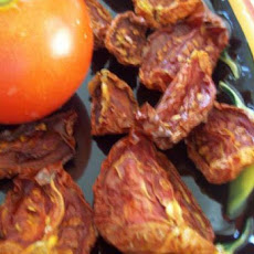 Sun-Dried Tomatoes in the Oven! Sun-Dried Tomatoes