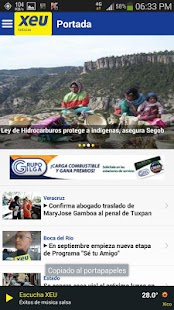 xeu Noticias - screenshot