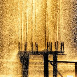 Water Drop by Aryan Jojo - Nature Up Close Water ( water, colors, art, weather, light )