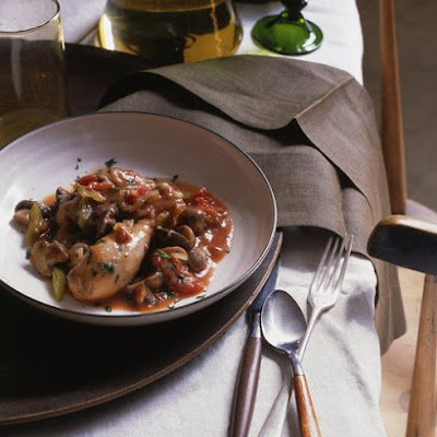 Chicken Cacciatore with Cremini Mushrooms