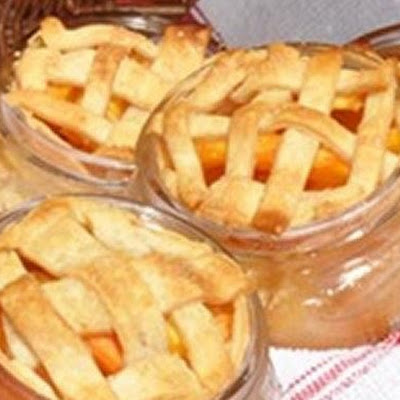 Peach Pies in a Jar