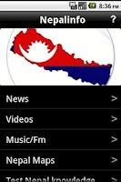 Screenshot of Nepalnews