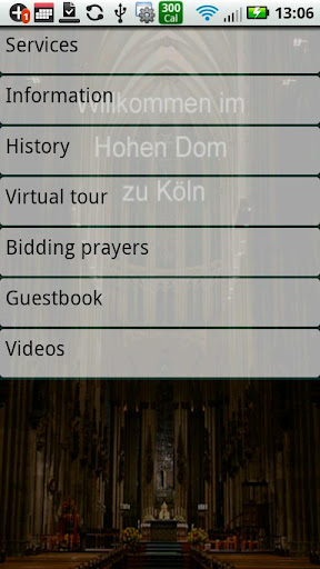 Cologne Cathedral internet