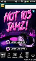 Screenshot of KPRS Hot 103 Jamz