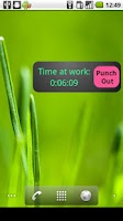 Screenshot of My Work Clock