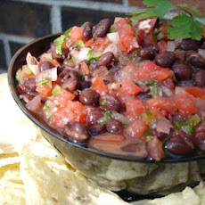 Spicy Black Bean Salsa