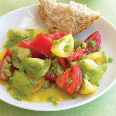 Tomato Salad with Chile and Lime