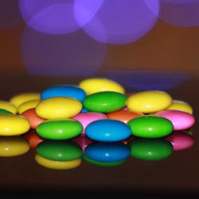 Reflection of Candies by Kaushik Bera - Food & Drink Candy & Dessert ( candy, dessert, sweet,  )