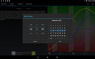 Screenshot of BioDroid