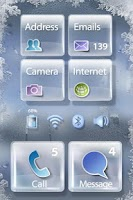 Screenshot of Glass MXHome Theme