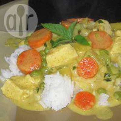 Kristy's Thaise kipcurry met ananas