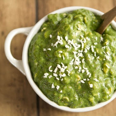 Green Monster Vegan Overnight Oats