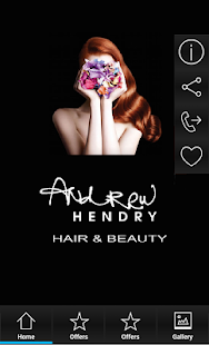 Andrew Hendry Hair and Beauty - screenshot