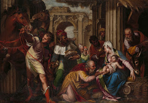 RIJKS: Paolo Farinati: The Adoration of the Magi 1585
