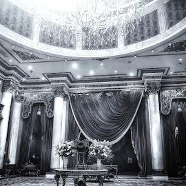 The Grand Ballroom by Edison Madrideo - Buildings & Architecture Architectural Detail ( luna, edison, jeddah, madrideo, architeture, laylaty, ballroom )