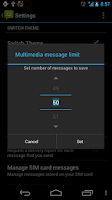Screenshot of Messaging Pro G