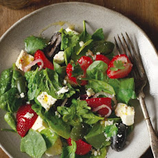 Pickled Feta With Cerignola Olives And Strawberries Recipe
