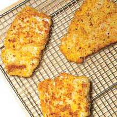 Macadamia-and-Panko-Crusted Cod with Orange-Butter Sauce