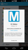 Screenshot of DC Metro