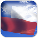 3D Chile Flag icon
