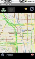 Screenshot of Chicago Traffic