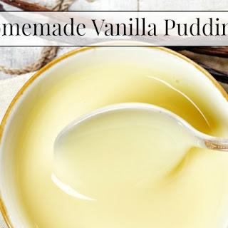 Arrowroot Vanilla Pudding Recipes
