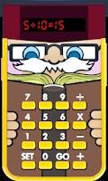 Screenshot of Little Professor math for kids