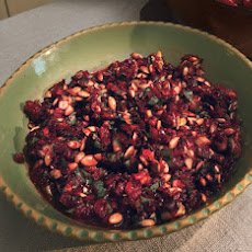 Cranberry Salsa with Cilantro and Chiles