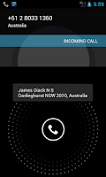 Screenshot of Sybla Australia - Caller ID