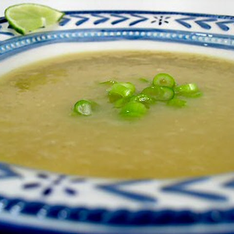 Creamy Mexican Chayote Soup