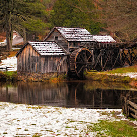 Mabry Mill by Lowell Griffith - Buildings & Architecture Public & Historical (  )