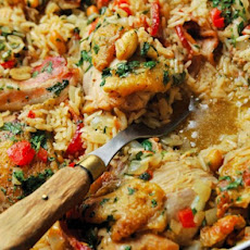 Chicken Peanut Perloo Recipe