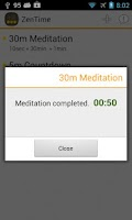 Screenshot of Meditation Timer: ZenTime Lite