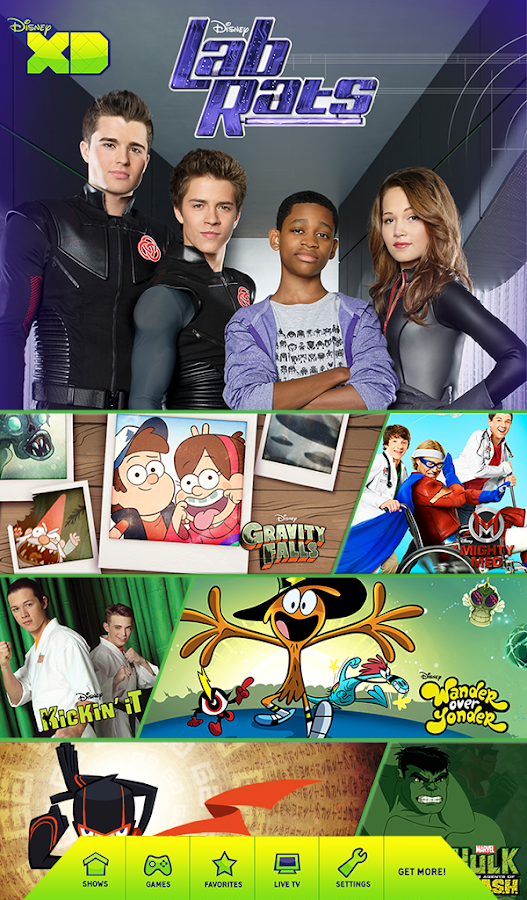 Disney XD - Watch & Play! Screenshot 1