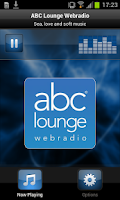 Screenshot of ABC Lounge Webradio