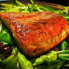 Honey Bourbon Salmon
