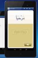 Screenshot of FREE Arabic by Nemo