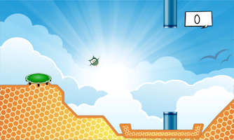 Screenshot of Smashy Bird