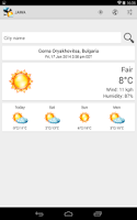 Screenshot of JAWA (Weather) Plus