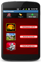 Screenshot of Free Mp3 Decoder